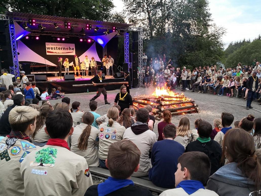 Campfire beim PiW19